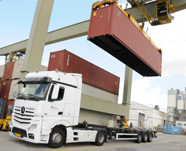 Containertransport