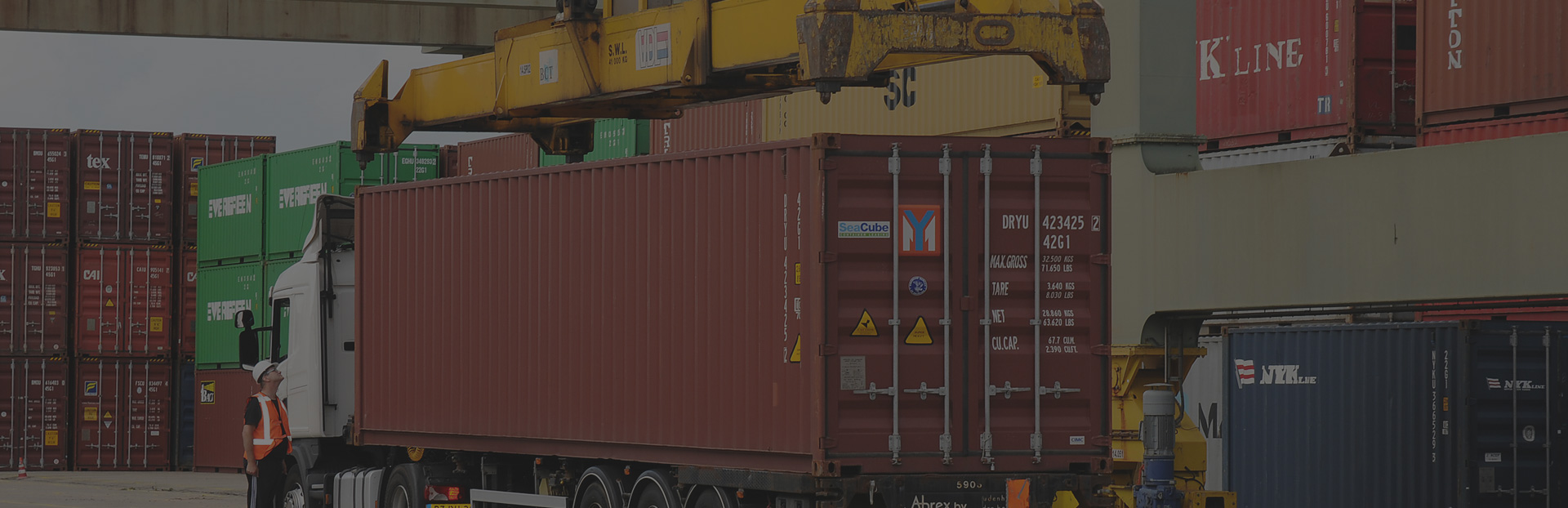 Abrex container transport