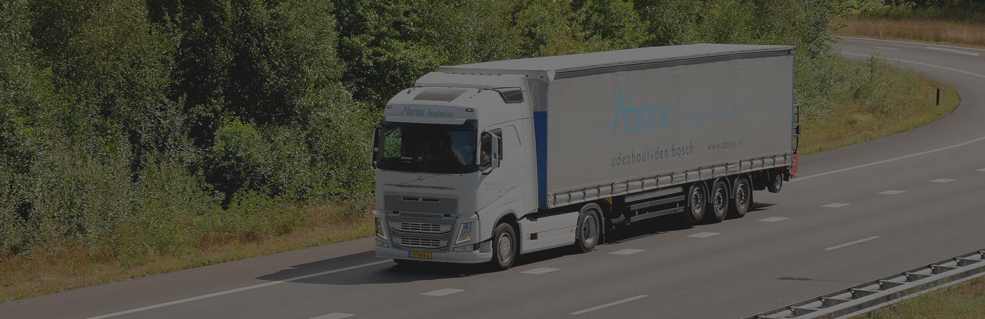Abrex vrachtwagen